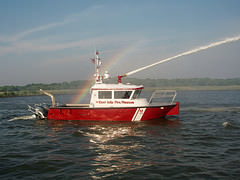 East Islip's High Speed FireStorm 30 Fireboat