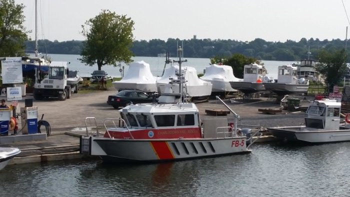 Charlestown Fire Company's New Fire Boat 15 Years in the Making.